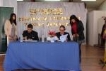 DEPARTAMENTO DE EDUCACIÓN FÍSICA ESTABLECE CONVENIO DE COLABORACIÓN CON LA ESCUELA VICENTE SEPULVEDA ROJO