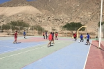 Estudiantes de segundo año de Educación Física realizaron bienvenida amigable a sus compañeros